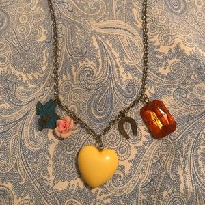 Cute and unique charm necklace